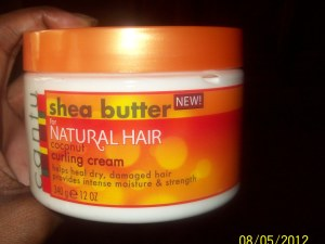 Product Review: Cantu Shea Butter Coconut Curling Cream